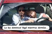 Senadora del estado pidiendo la ley dominical encuentra a los Adventistas del Séptimo Día dormidos al volante